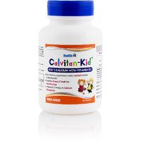 Healthvit CalvitanKid Kids Calcium With Vitamin D3 60 T