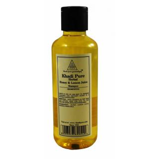 KHADI PURE HERBAL HONEY LEMON JUICE SHAMPOO 1 SHAMPOO