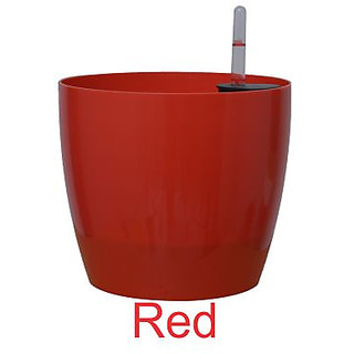 Self watering planter 9'' Red color (PACK OF 1