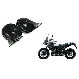 Himmlisch   Uno Minda Trumpet Twin Dual Tone Bike  Horn For      Suzuki V-Strom 1000