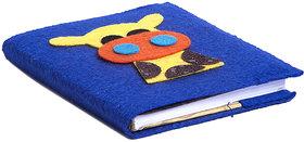 Li'll Pumpkins Blue Giraffe Small Diary