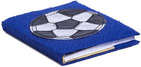 Li'll Pumpkins Blue Football Small Diary