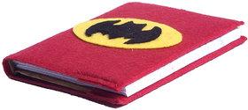 Li'll Pumpkins Red Batman  Medium Big Diary