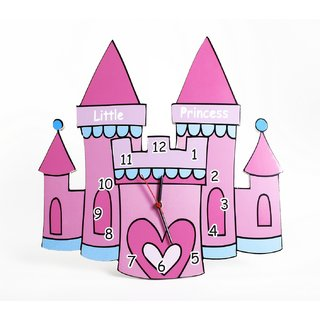 Baby Oodles Castle Wall Clock
