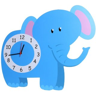 Baby Oodles Elephant Wall Clock