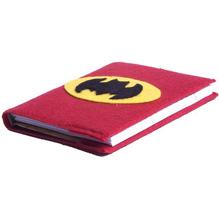 Li'll Pumpkins Red Batman  Medium Big Diary