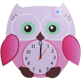 Baby Oodles Owl Wall Clock