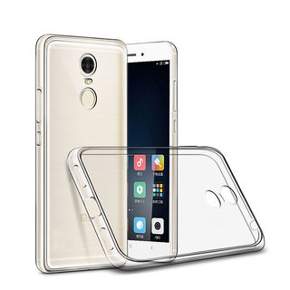 Macsoon Transparent Cover For Redmi Note 4