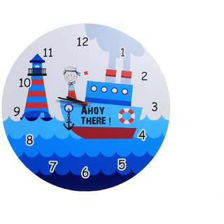 Baby Oodles Sailor Theme Wall Clock