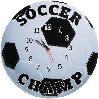 Baby Oodles Soccer Wall Clock