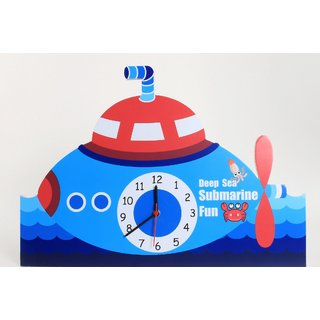 Baby Oodles Submarine Wall Clock
