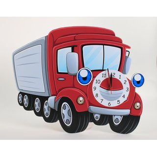 Baby Oodles Truck Wall Clock