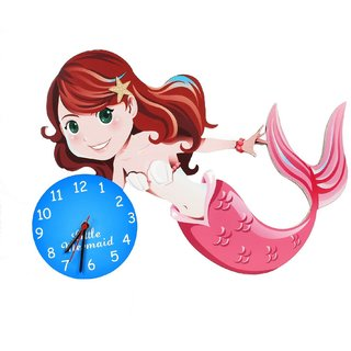 Baby Oodles Mermaid Wall Clock