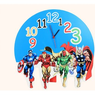 Baby Oodles Avengers Wall Clock