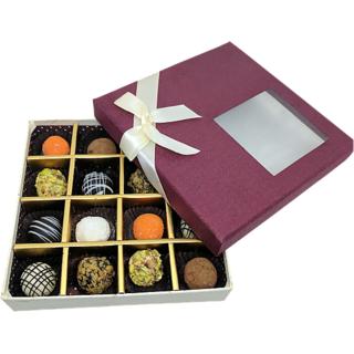 Assorted Truffles Chocolate Gift Box (16 Pcs)