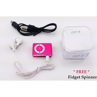 RAD SHOPPE BEST DEAL -  Mini MP3 Player With Headphone  Charger- (With FREE Spinner Worth 199 Rs )