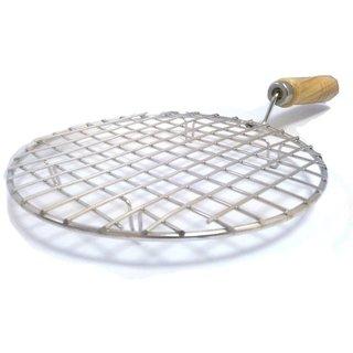 Kudos Roti Jari Roti jali Roast Grill Papad Roaster Grill Chapati Toast Grill Wooden Handle jali barbecue