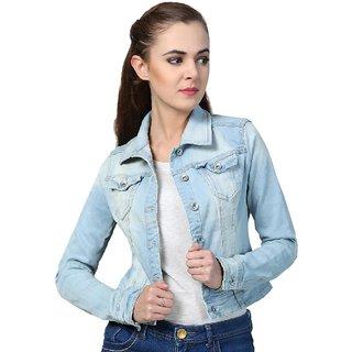 Buy Kotty Women s Blue Denim Jackets Online - Get 75% Off ffd8839ea9