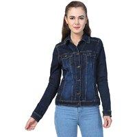 Kotty Women's Blue Denim Jackets