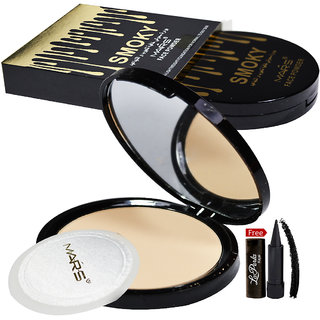 Mars Smoky Face Powder 81052-02 With Free LaPerla Kajal Worth Rs.125/