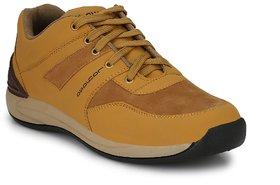 Layasa Men's Beige Casual Shoes