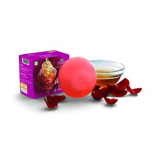 6 Herbal Honey Rose and Glycerine 125 gm each Soaps