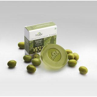 6 Herbal Italian Olive Soaps 125 gm each
