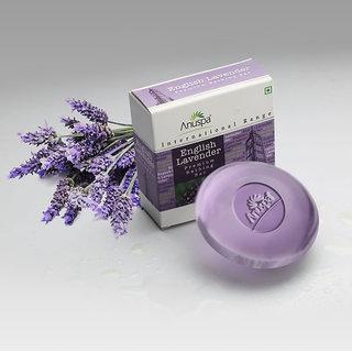 Anuspa Herbal English Lavender Soaps 125 gm