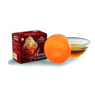 AnuSpa Herbal Honey Glycerine for baby soft skin 125 gm