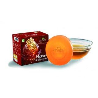 6 Herbal Honey Glycerine 125 gm each Soaps