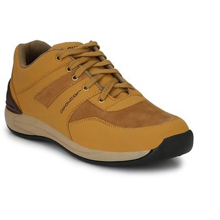 Layasa Men's Beige Casual Shoes