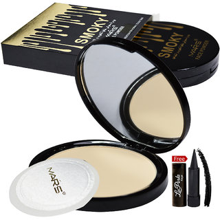 Mars Smoky Face Powder 81052-03 With Free LaPerla Kajal Worth Rs.125/
