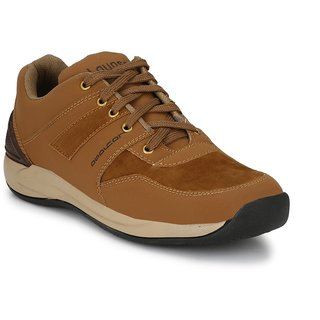 Layasa Men's Brown Casual Shoes