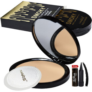 Mars Smoky Face Powder 81052-04 With Free LaPerla Kajal Worth Rs.125/