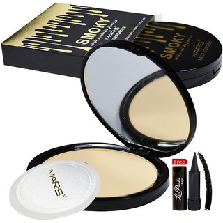 Mars Smoky Face Powder 81052-05 With Free LaPerla Kajal Worth Rs.125/