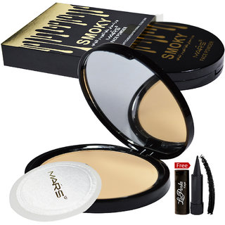 Mars Smoky Face Powder 81052-06 With Free LaPerla Kajal Worth Rs.125/