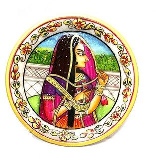 shoppingtara Bani Thani Painting Marble Plate - 6