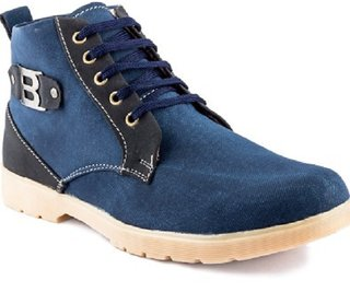 Stylos Men's 1082 Blue Synthetic Casual Shoes