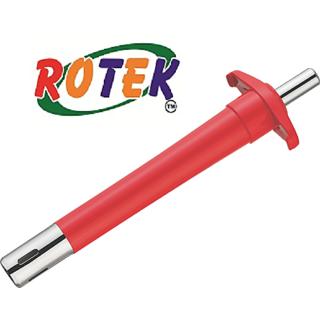 Rotek Designer Gas Lighter With Plastic Body