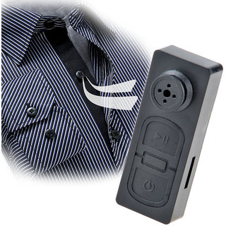Best Quality Hidden Button Camera Audio Video Recording