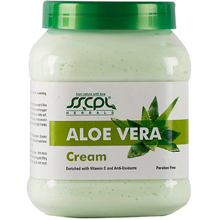 SSCPL HERBALS Aloevera Massage Cream 450