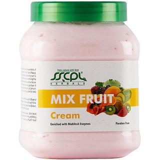 SSCPL HERBALS Mix Fruit Massage Cream 450