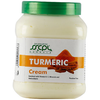 SSCPL HERBALS Turmeric Massage Cream 450
