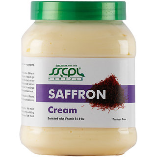 SSCPL HERBALS Saffron Massage Cream 450