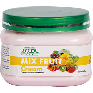 SSCPL HERBALS Mix Fruit Massage Cream 150
