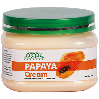 SSCPL HERBALS Papaya Massage Cream 150