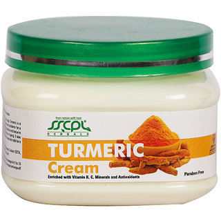 SSCPL HERBALS Turmeric Massage Cream 150