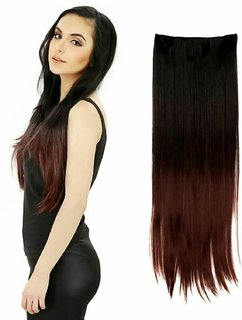 Tahiro Black Highlighting Brown Party Hair Extension - Pack Of 1