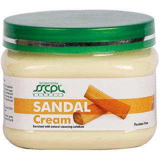 SSCPL HERBALS Sandal Massage Cream 150