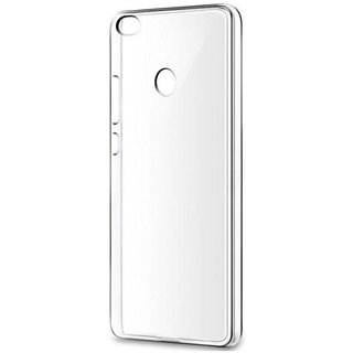competitive price 984cb 2b4d3 Macsoon Transparent Rubber Back Cover For Redmi Y1 Lite